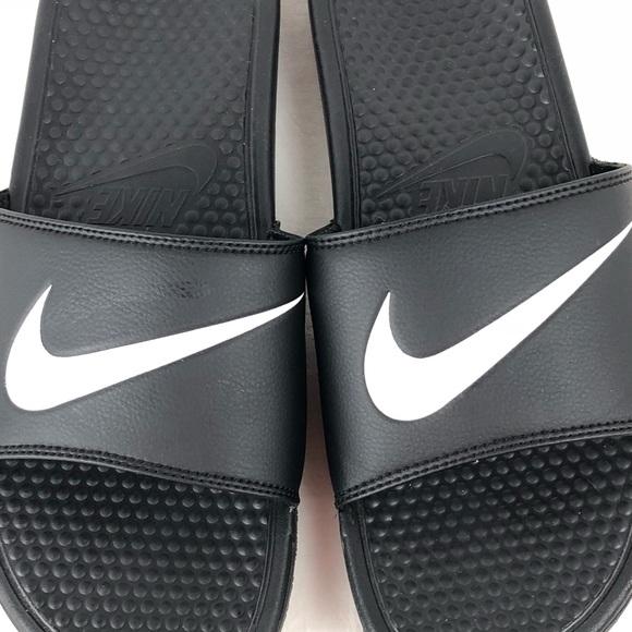 499276b9509c Nike Benassi Swoosh Slide Sandals 312618-011 Sz 14.  M 5aea6d00a4c48511e0315feb